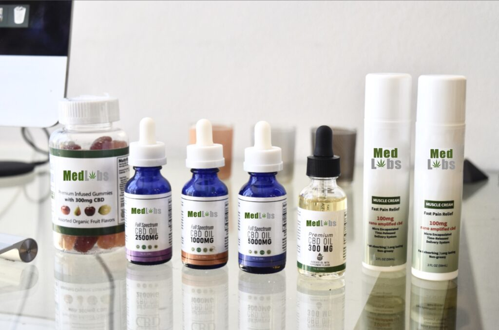 medlabs cod product line